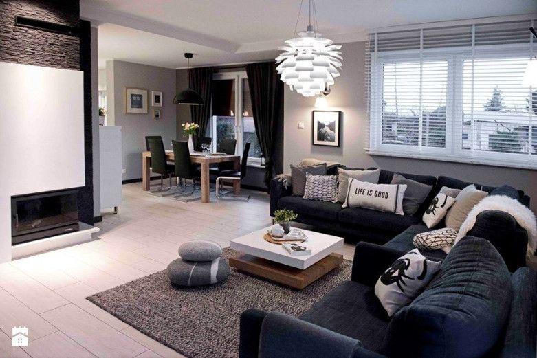 Gemütliches Luxus Innenarchitektur : Wohnzimmer Ideen Modern Dekoration Und  Günstige Möbel Auf Industrieparkett Minimal Ism Duży