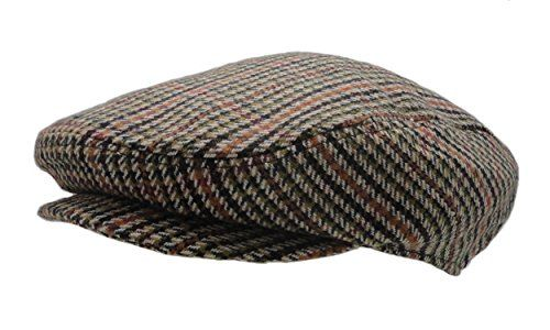 2120993e1d Men's Classic Herringbone Tweed Wool Blend Newsboy Ivy Ha... https ...