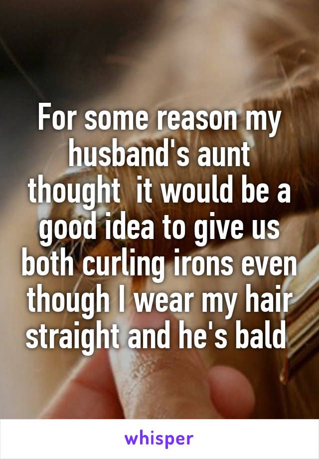 Whisper App. Confessions on craziest wedding gifts