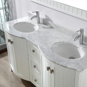 56 Inch Bathroom Vanity Double Sink   Most Experts Will Tell You The Center  Of The Toilet Is The Toilet Vanity.
