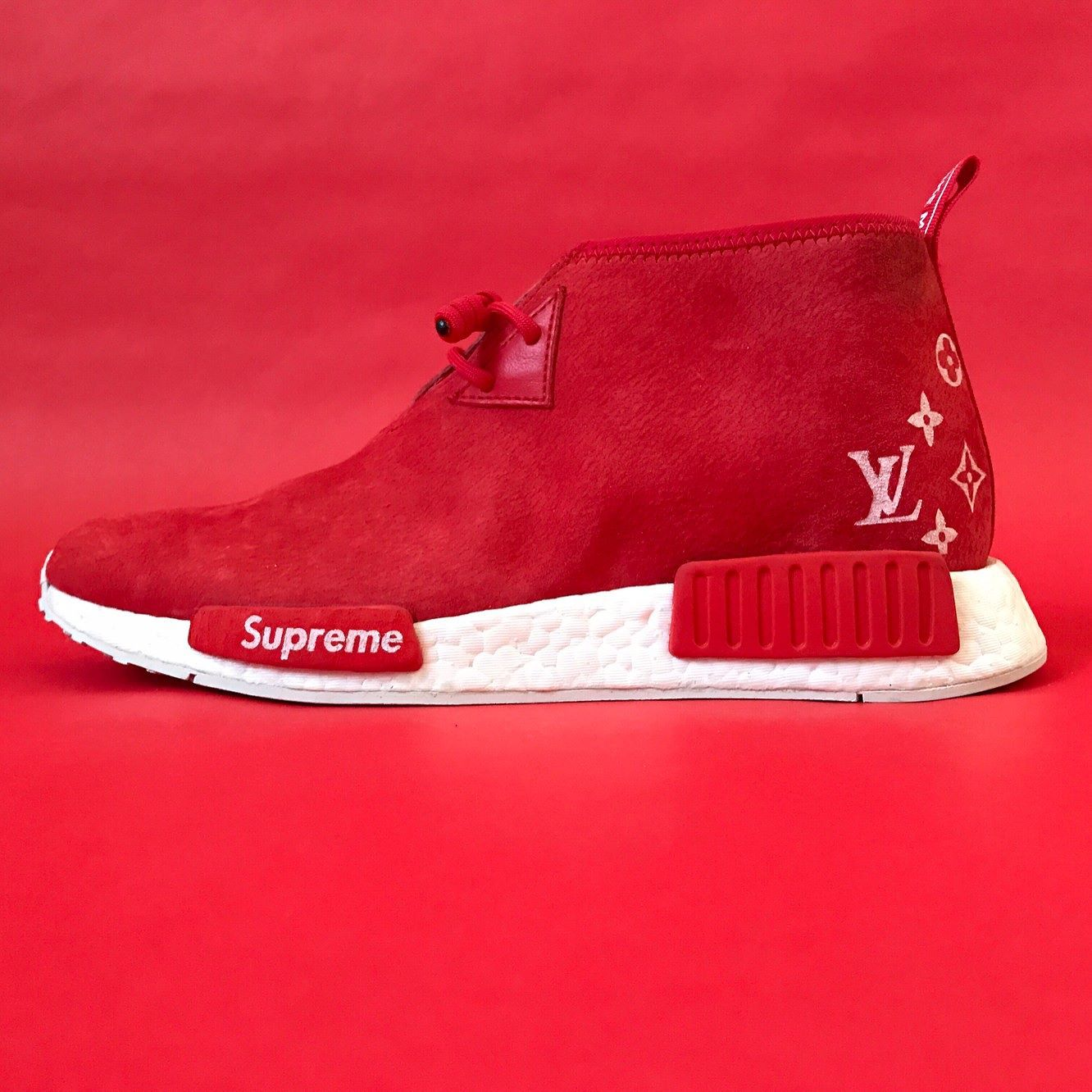 brand new 1dc01 1c2f6 NMD C1_S/LV Supreme x Louis Vuitton NMD C1 Custom | Photo ...
