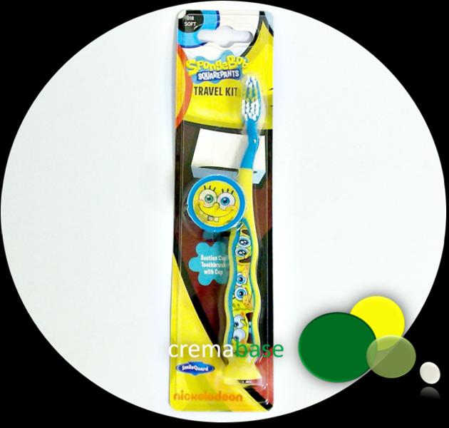 Cepillo de dientes infantil Bob Esponja a partir de 6 años