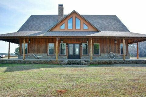 Love This Porch With The Stone Wood Barn House Plans House Plans Farmhouse Pole Barn House Plans