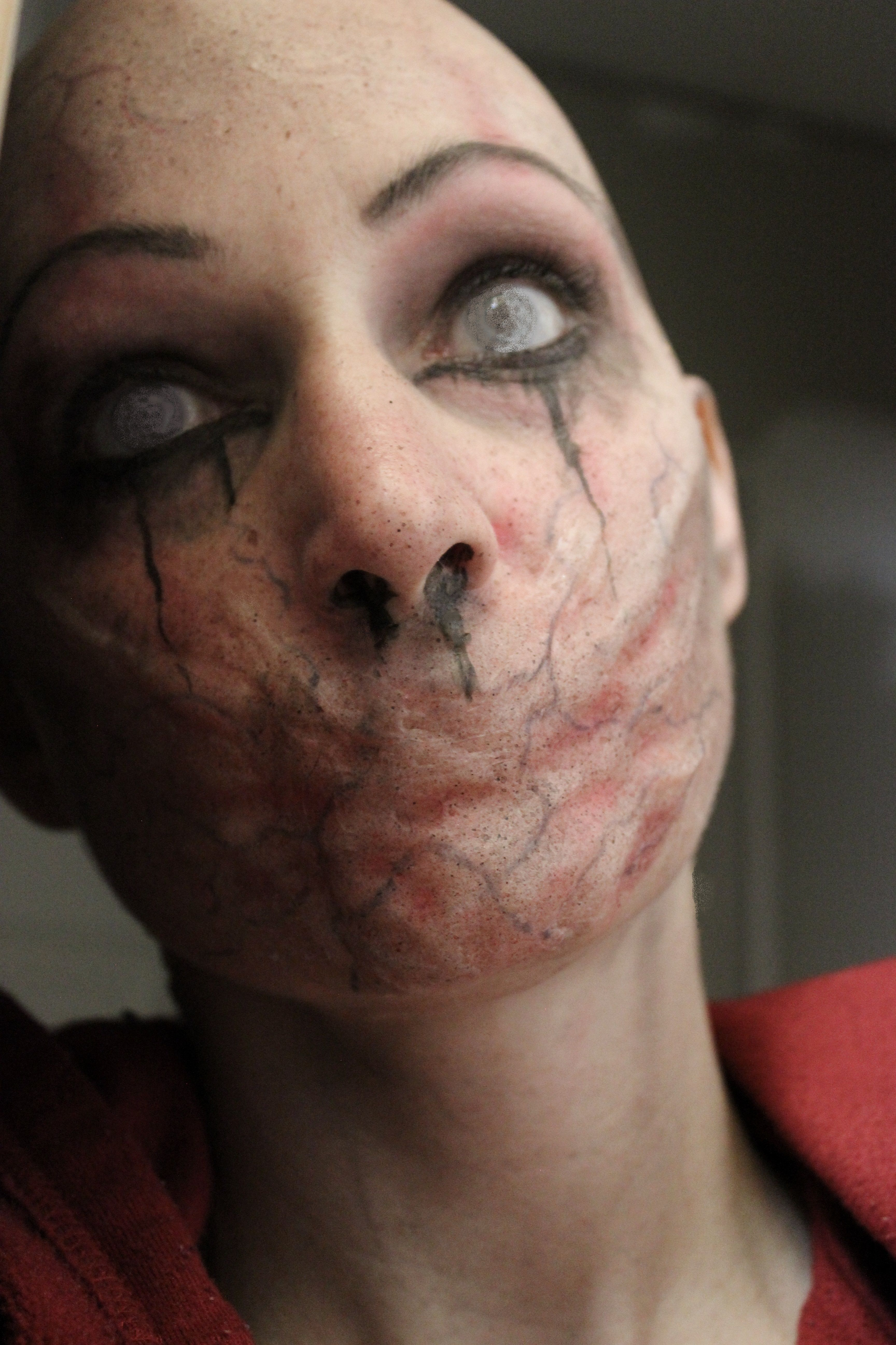 Character makeup by Rhonda Causton(Reel Twisted FX)