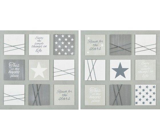 Dekoratives Bild in Grau - ein hübscher Blickfang für Ihr Zuhause