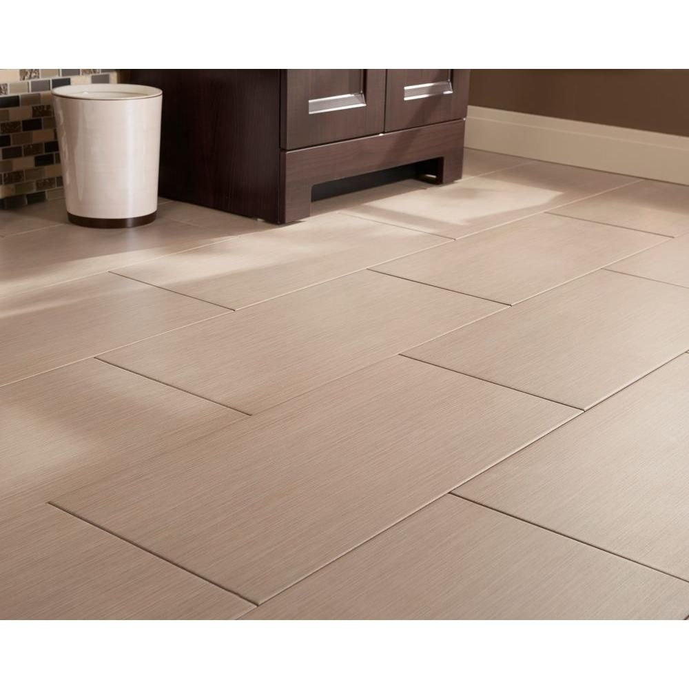 Msi Metro Charcoal 12 In X 24 In Glazed Porcelain Floor And Wall Tile 16 Sq Ft Case