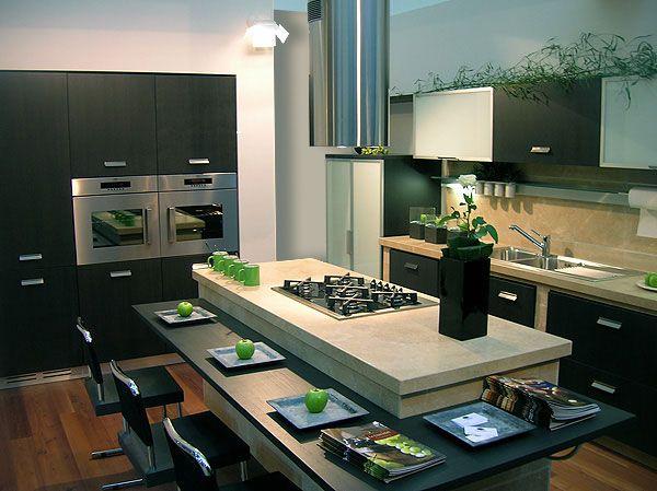 disegno cucine ad isola moderne ispirazioni design dell