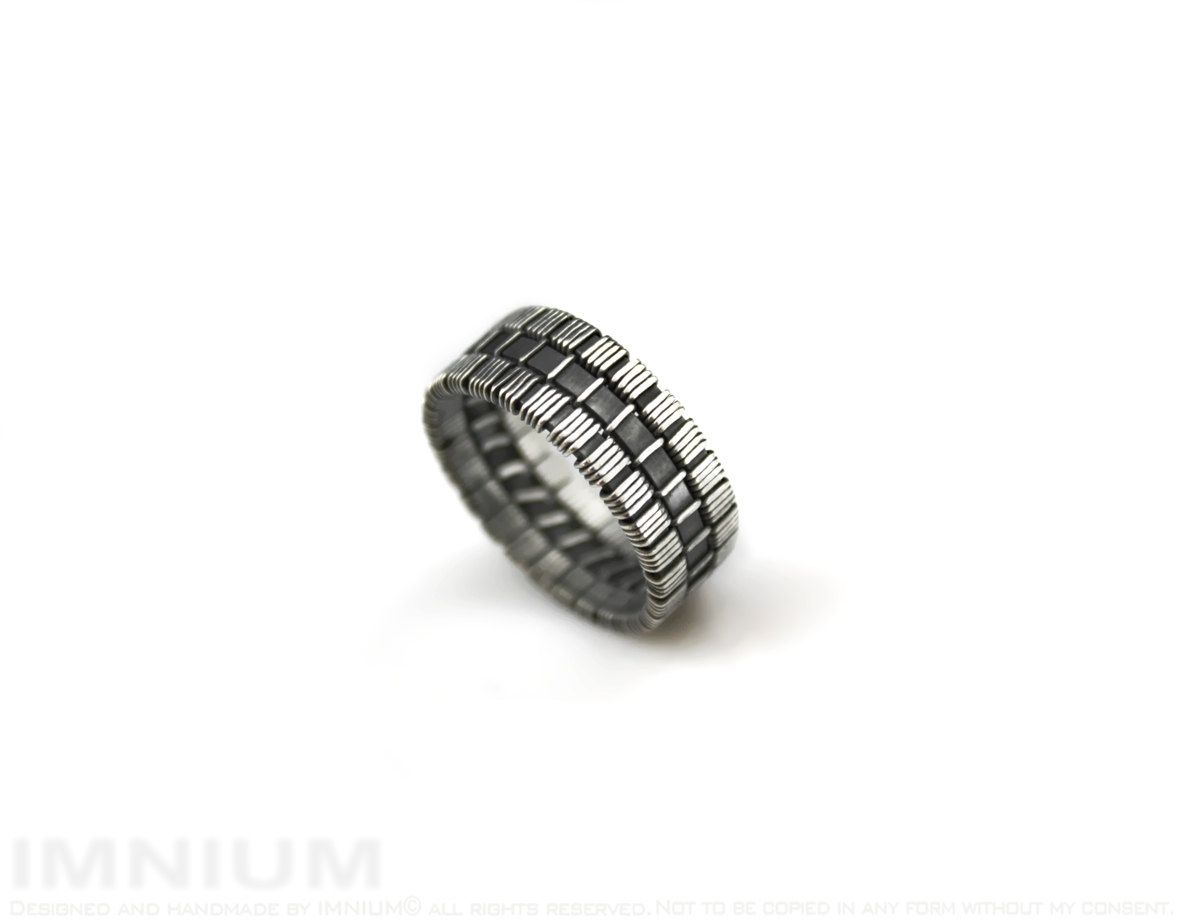 Wire wrapped ring tutorial - intermediate level, soldering optional ...