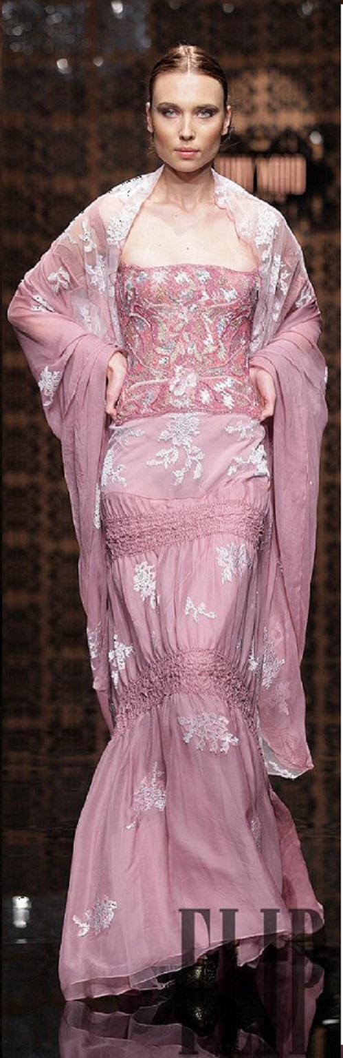 Tony Ward Couture - fall - winter 2007 - 2008