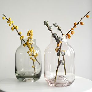 Small Coloured Glass Vase   Table Decorations