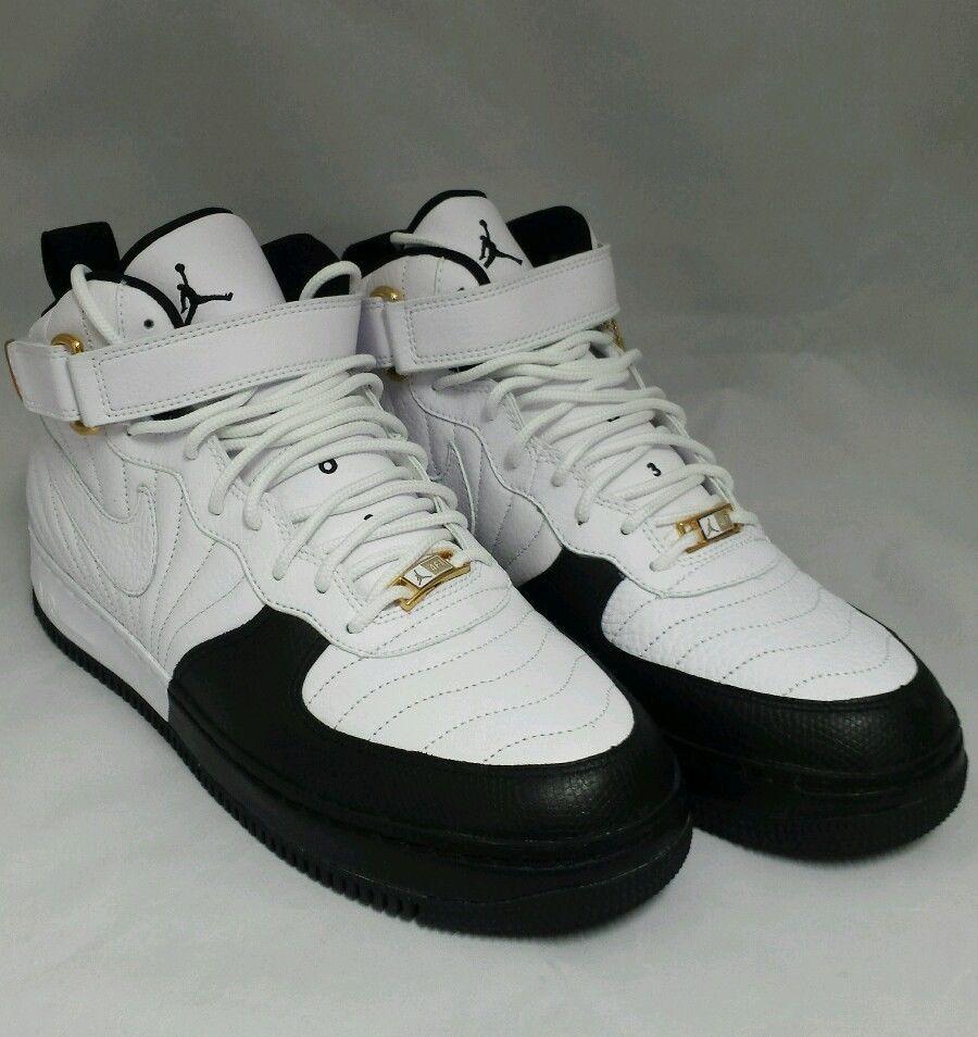 ba95dc90f70 Nike Air AJF 12 Air Jordan Fusion White Black-Taxi Mens 11 New In Original  Box…