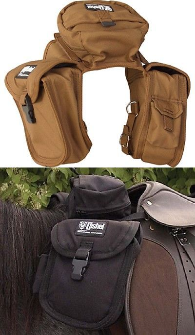 Other Western Tack 47301: Cashel English Front Pommel Pack Saddle Bag Brown BUY IT NOW ONLY: $44.95