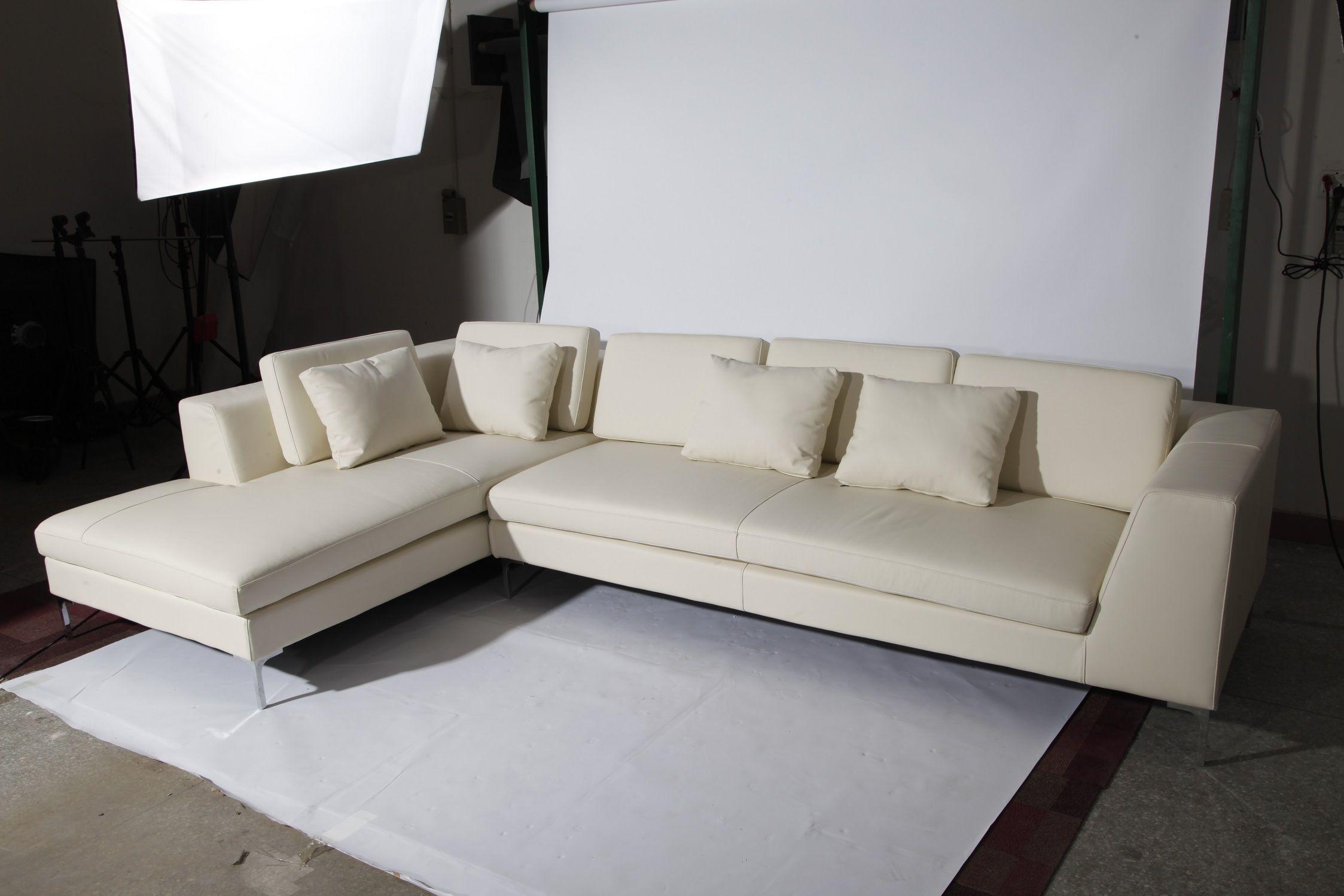 Peachy Bb Italia Charles Sectional Sofa Replica In Ivory Ltalian Ibusinesslaw Wood Chair Design Ideas Ibusinesslaworg