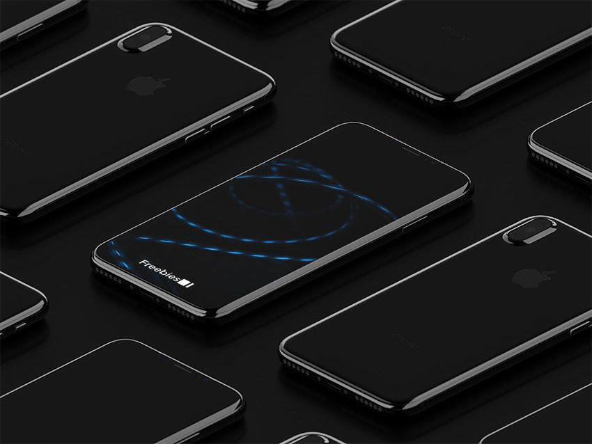 Iphone 8 Isometric Mockup 2 Free Psd Download Iphone Free