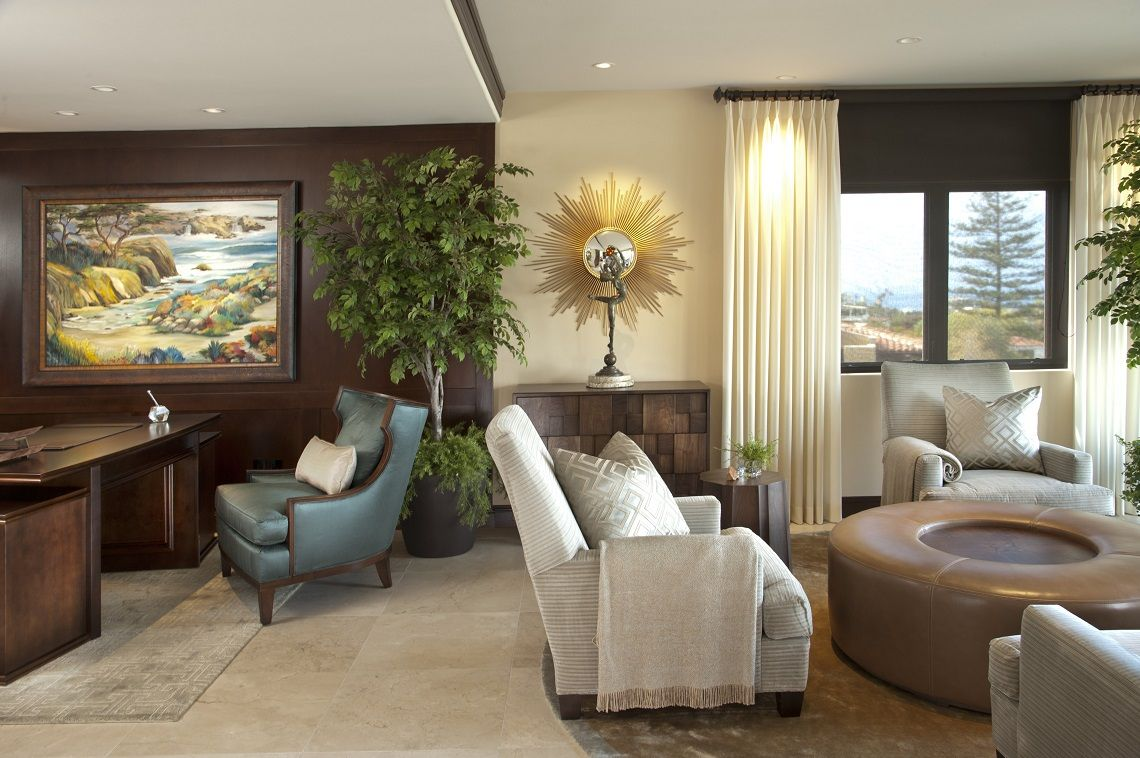 La Jolla Luxury Living Room 1 2 After