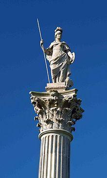 Minerva Wikipedia Animal Symbolism Minerva Statue