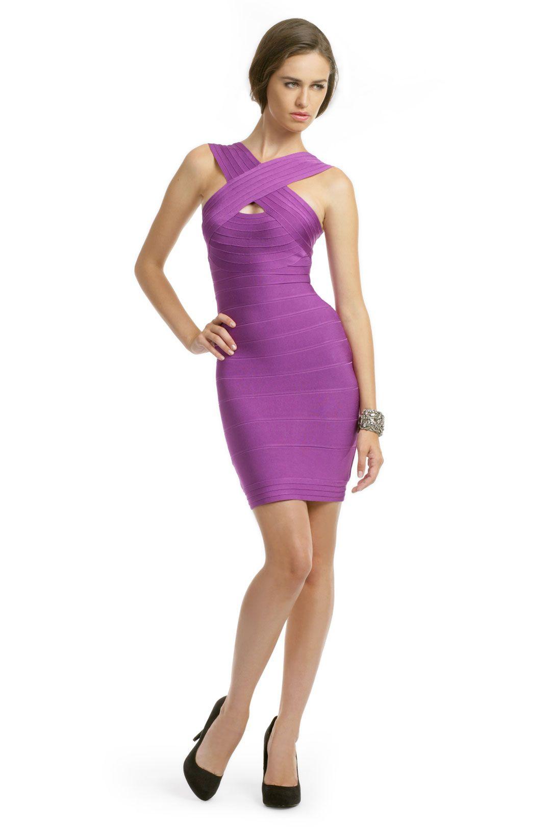 Purple Peep Dress