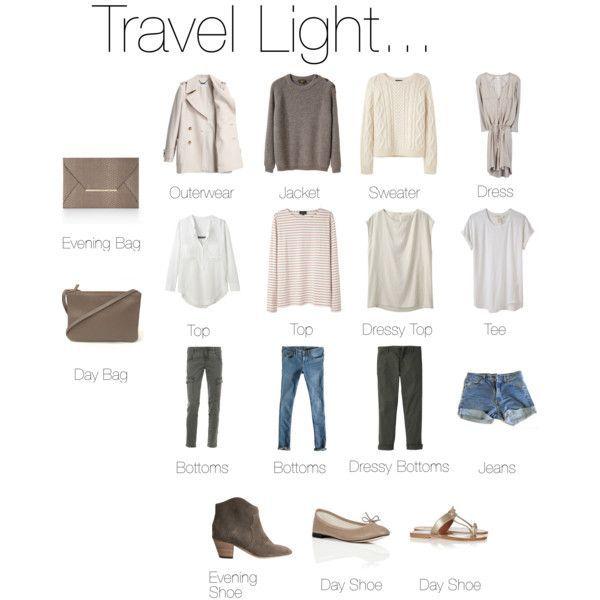 Travel Light... - Reise Tipps #travelwardrobesummer