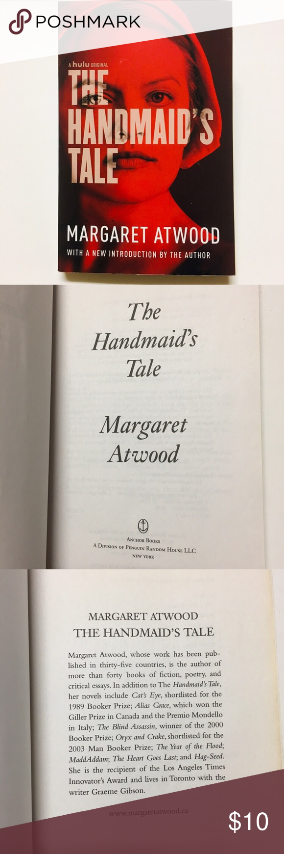 """The Handmaid's Tale"" By Margaret Atwood The Handmaid's Tale"" by Margaret Atwood. Paperback. Good used condition. Please see all photos for further details. Feel free to message with any questions. Thank you!   ""The Handmaid's Tale (1985) is a work of speculative fiction by Canadian author Margaret Atwood. Set in a near-future New England, in a totalitarian theocracy which has overthrown the United States government, the dystopian novel explores themes of women in subjugation and the #margaretatwood"