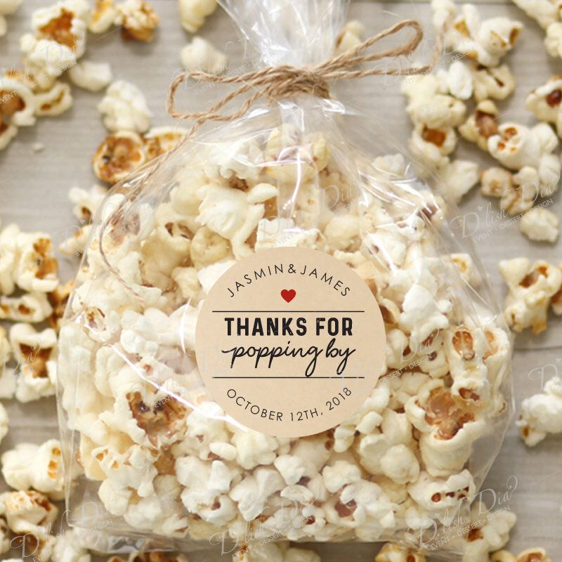 We Do! Love Prezels Wedding Favor Bags-Personalized Country Wedding Favors-Bachelorette Engagement Party-Wedding Welcome Bags-Bridal Shower