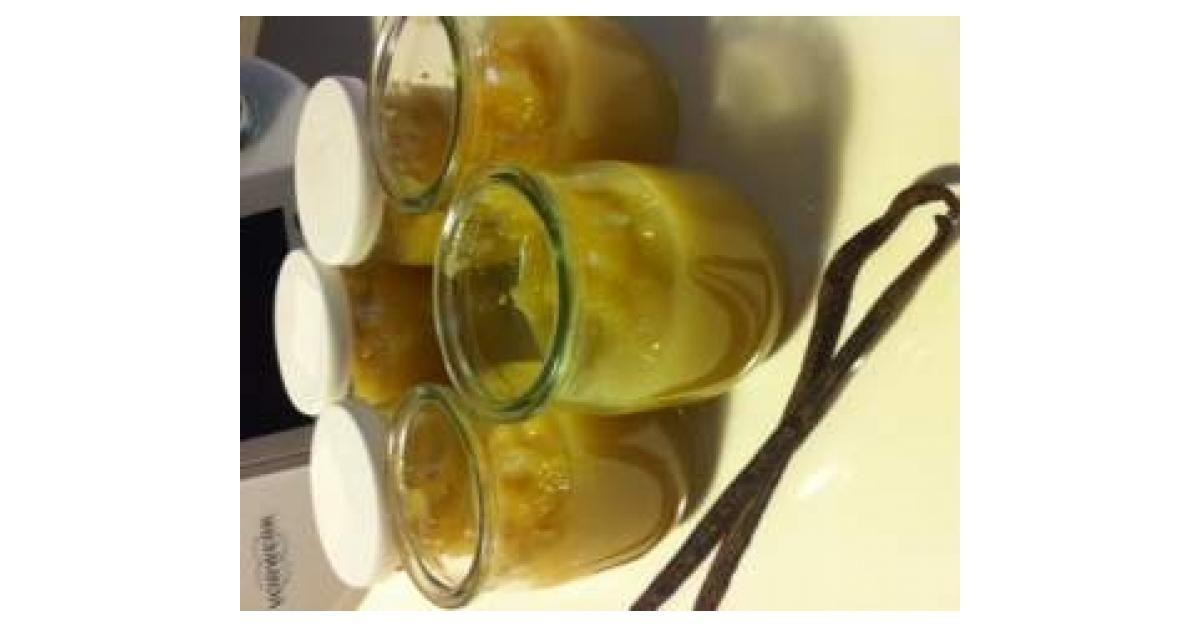 Compote Pommes Poires Cannelle Vanille Sans Sucre Ajoute Recette