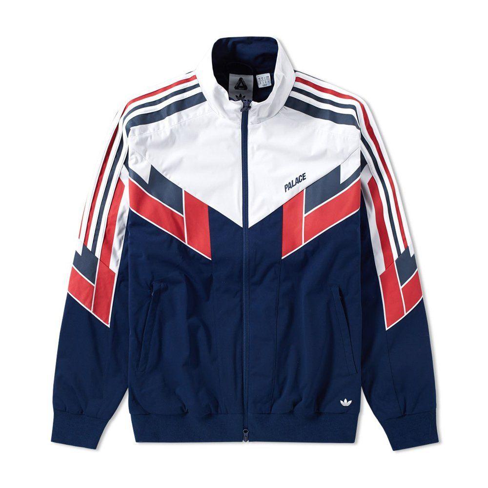 Veste Adidas Trefoil Nylon 90'S Bleu ciel Jacket Polyamide