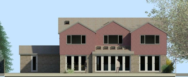 Two storey rear extension - rendered images are a great way of visualising the design before you start building.