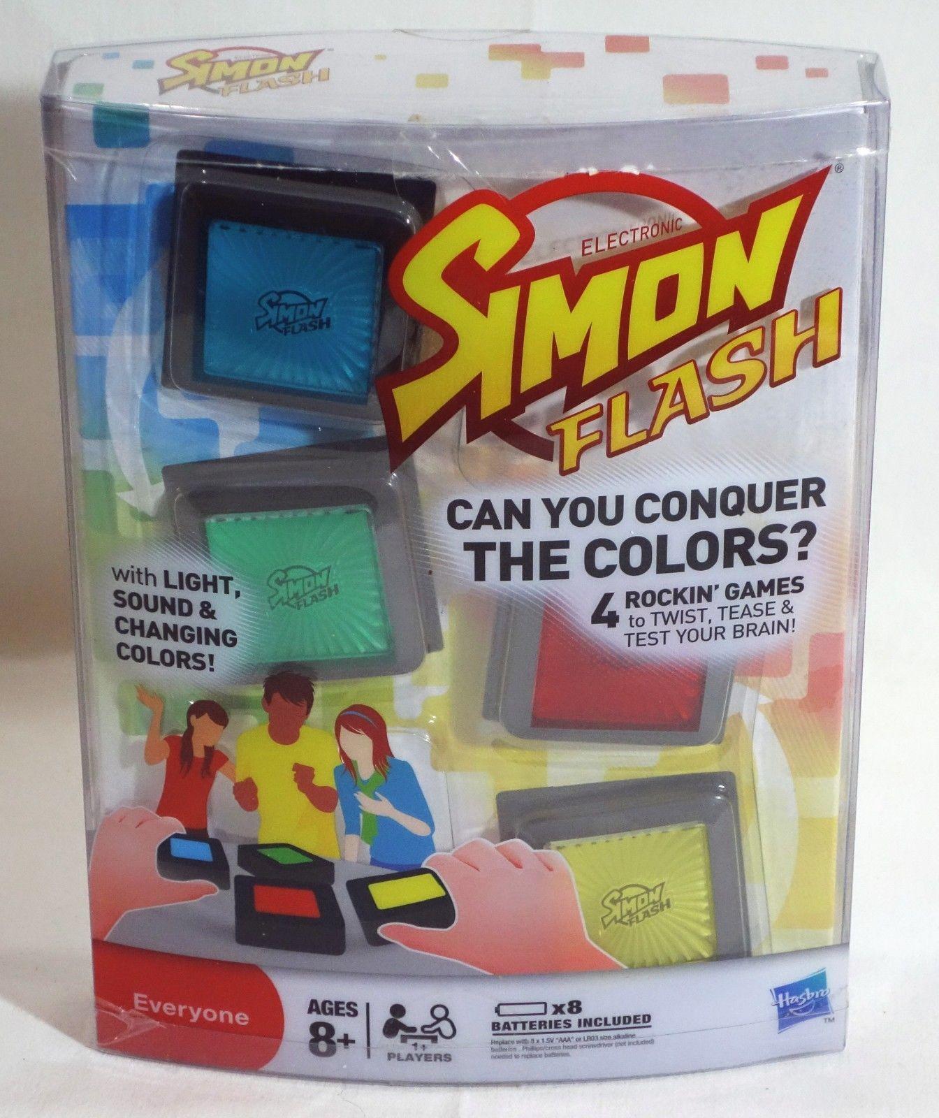 Simon Flash Electronic Game 2009 Hasbro Games, Memory