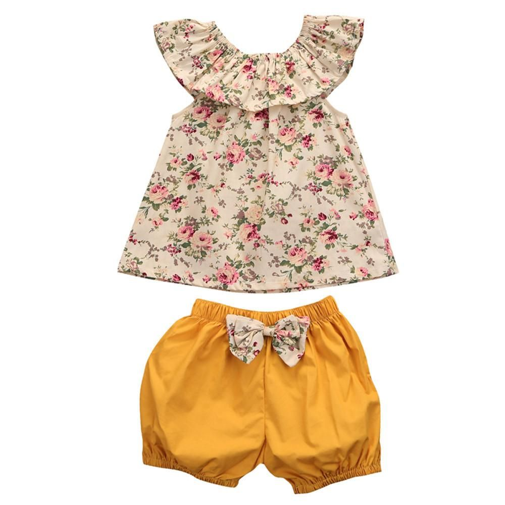 045154be4 Floral Shirt And Shorts Set