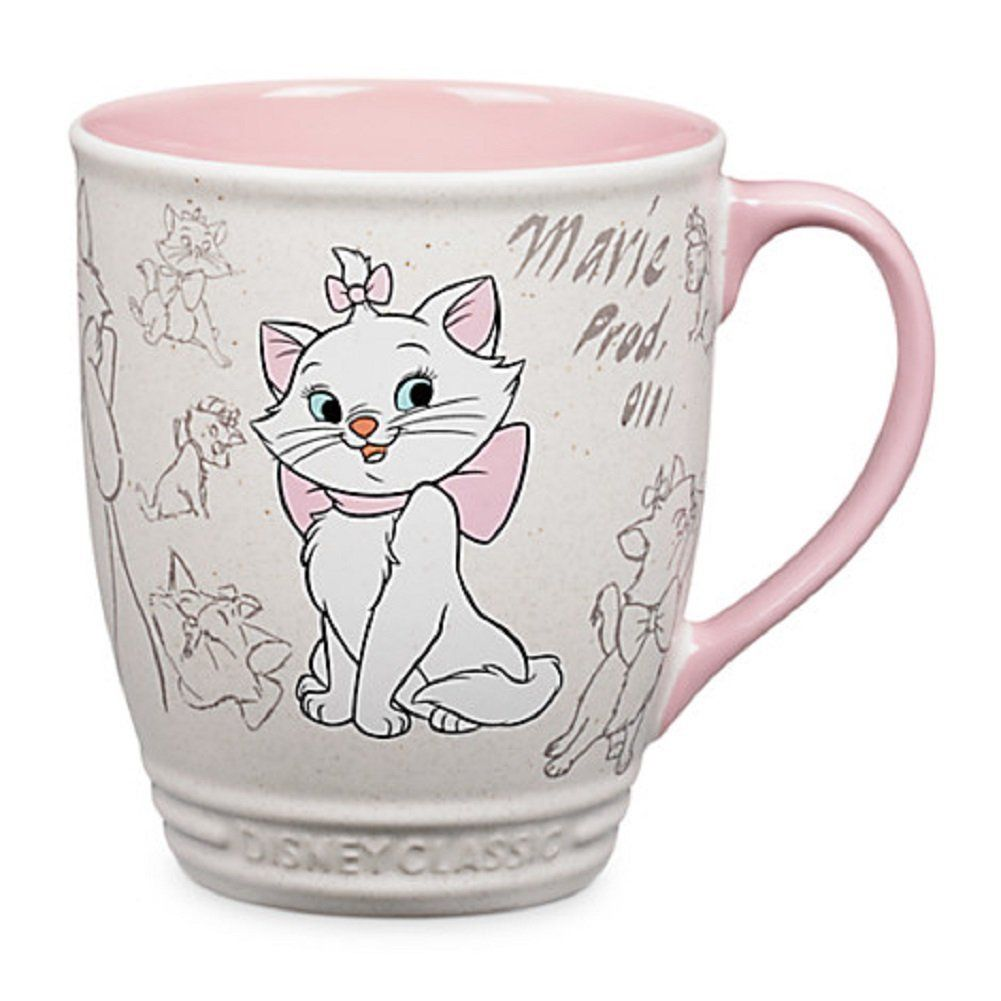 Amazon Com Disney Store Marie Classic Coffee Mug Cup The