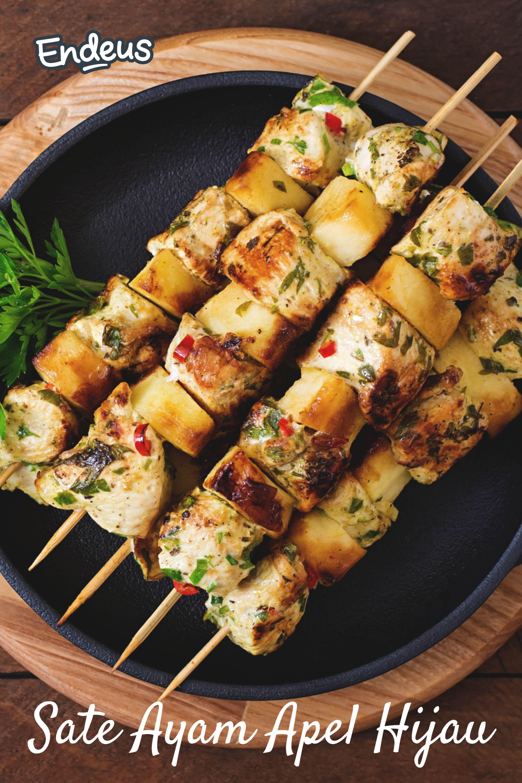 Resep Sate Ayam Apel Hijau Resep Resep Makanan Resep Makanan Sehat