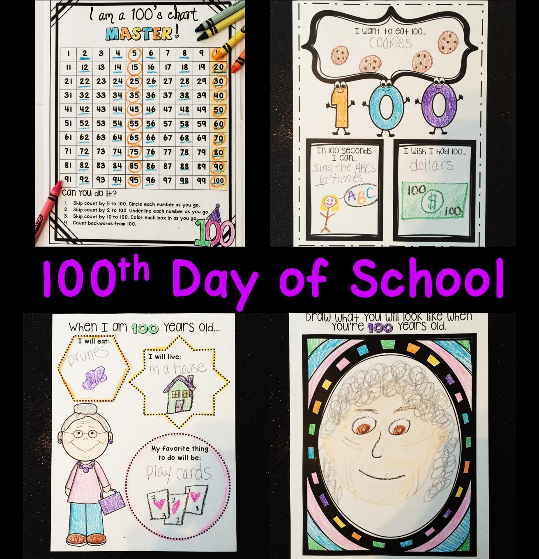 100th Day of School 100 days of school, School coloring