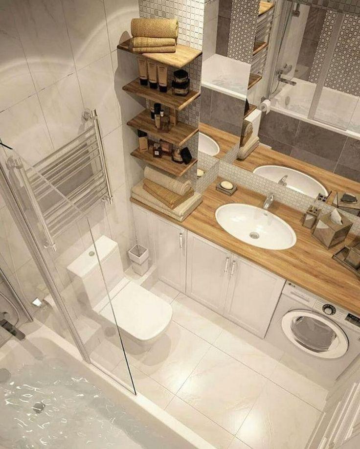 ✔ 30+ idées de design de salle de bains moderne plus des astuces 30,  #astuces #bains #des #Design #...