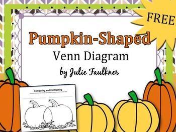 Halloween fall freebie comparecontrast pumpkin shaped venn halloween fall freebie comparecontrast pumpkin shaped venn diagram halloween teaching ideas ccuart Image collections
