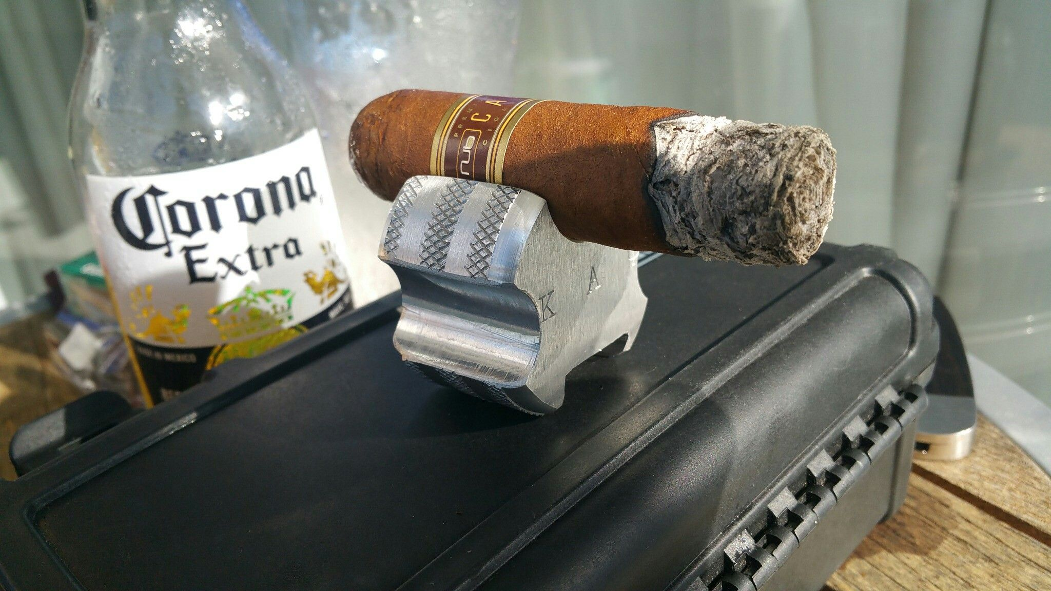 Staylitttsiestas.com Executive Cigar Holders $35 Square