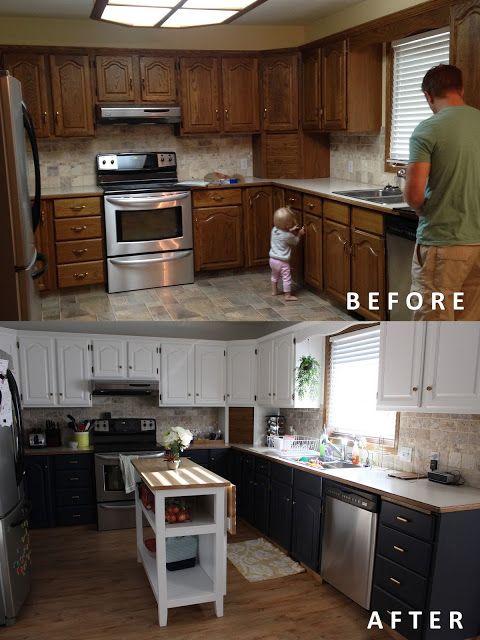 Make Life Happy | Redo kitchen cabinets, Kitchen diy ...