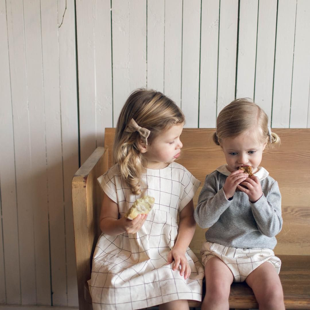 June Isle collection. jiss17. linen dress. kids fashion. made in canada.