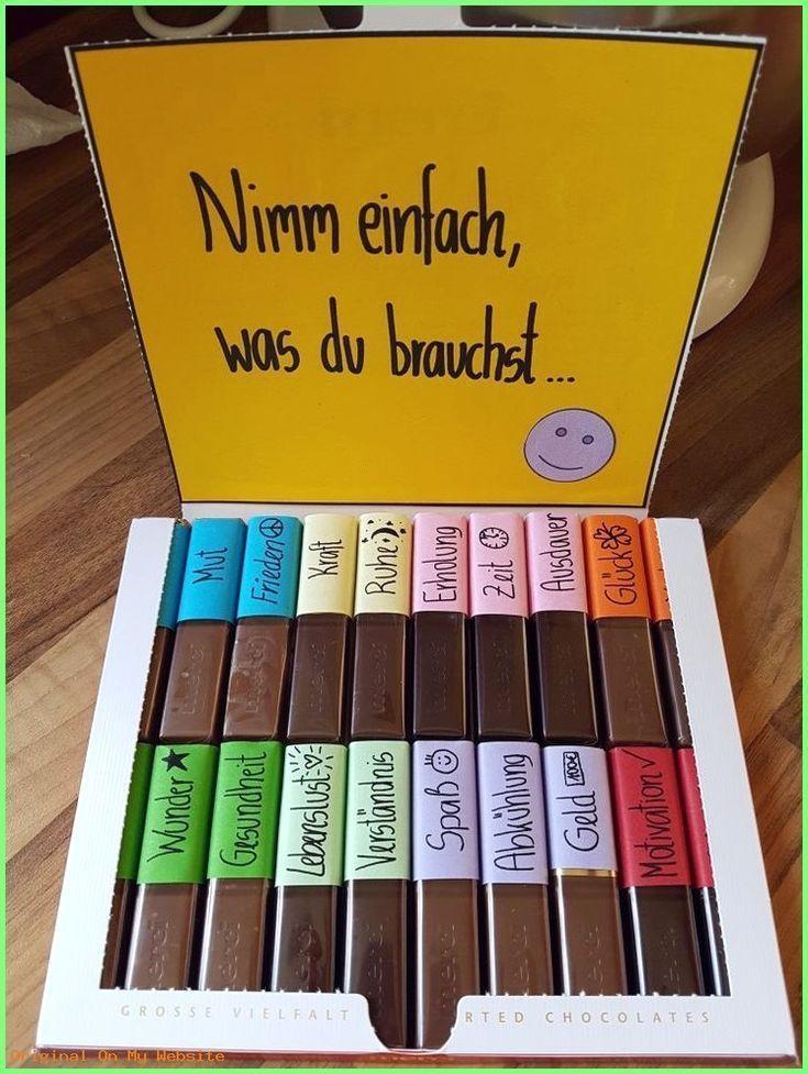 Geschenkideen für eine Freundin - Schöne Idee: #Das