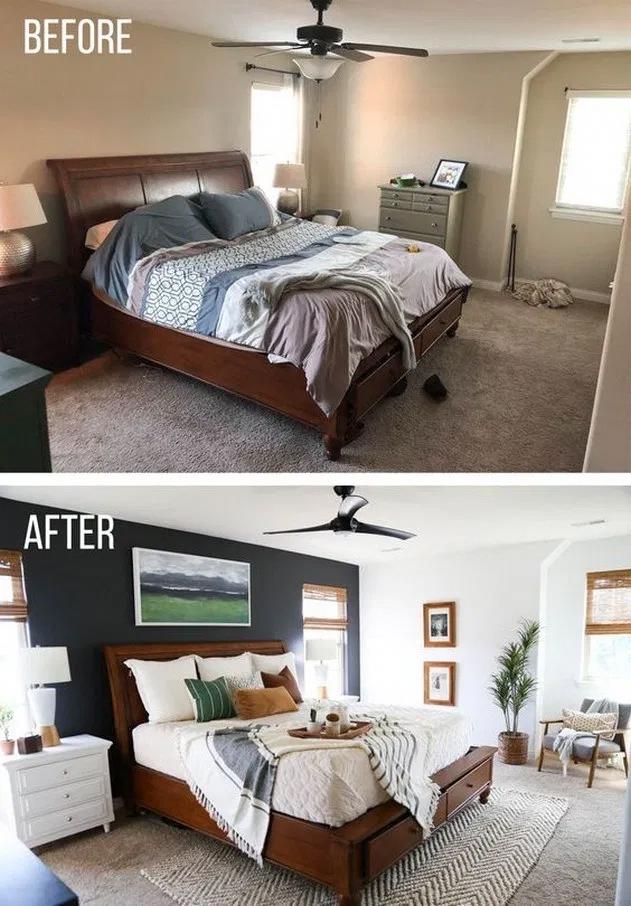 Photo of 13+ Smart Ideas Master Bedroom Makeover ~ kuliahsehat.site | Blogger Creative #b …