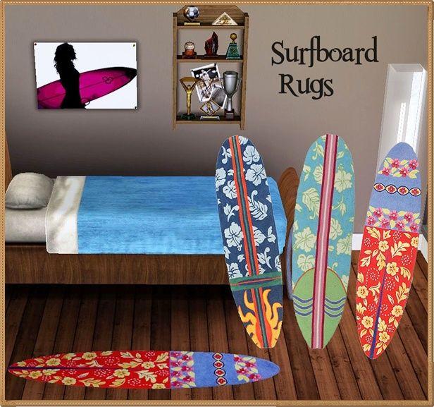 lillka's Surfboard Rugs