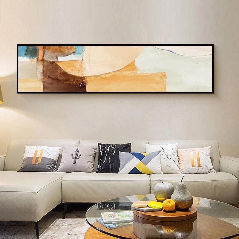 Modern Rustic Abstract Wide Format Wall Art Fine Art Canvas Prints
