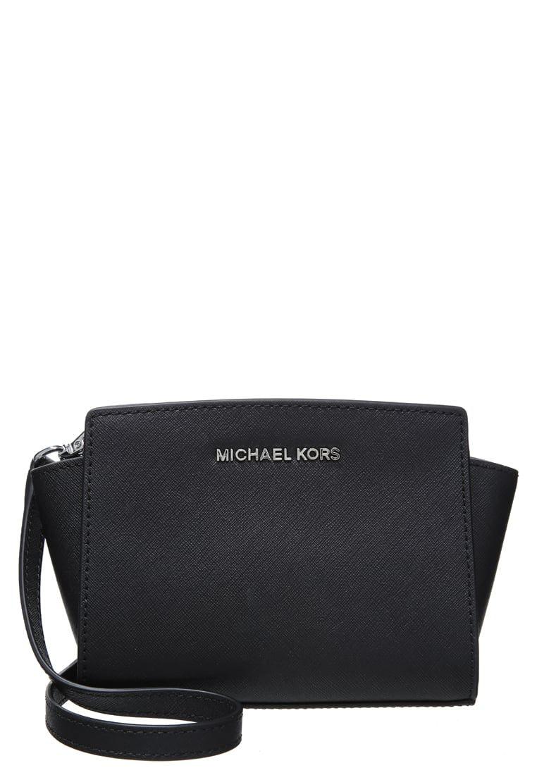 MICHAEL Michael Kors SELMA - Across body bag - black - Zalando.co ...