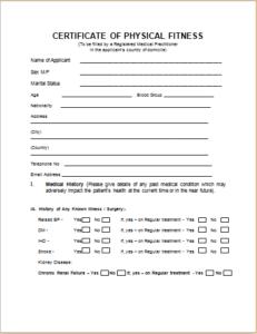 Medical Certificate Template Download At HttpWwwTemplateinn