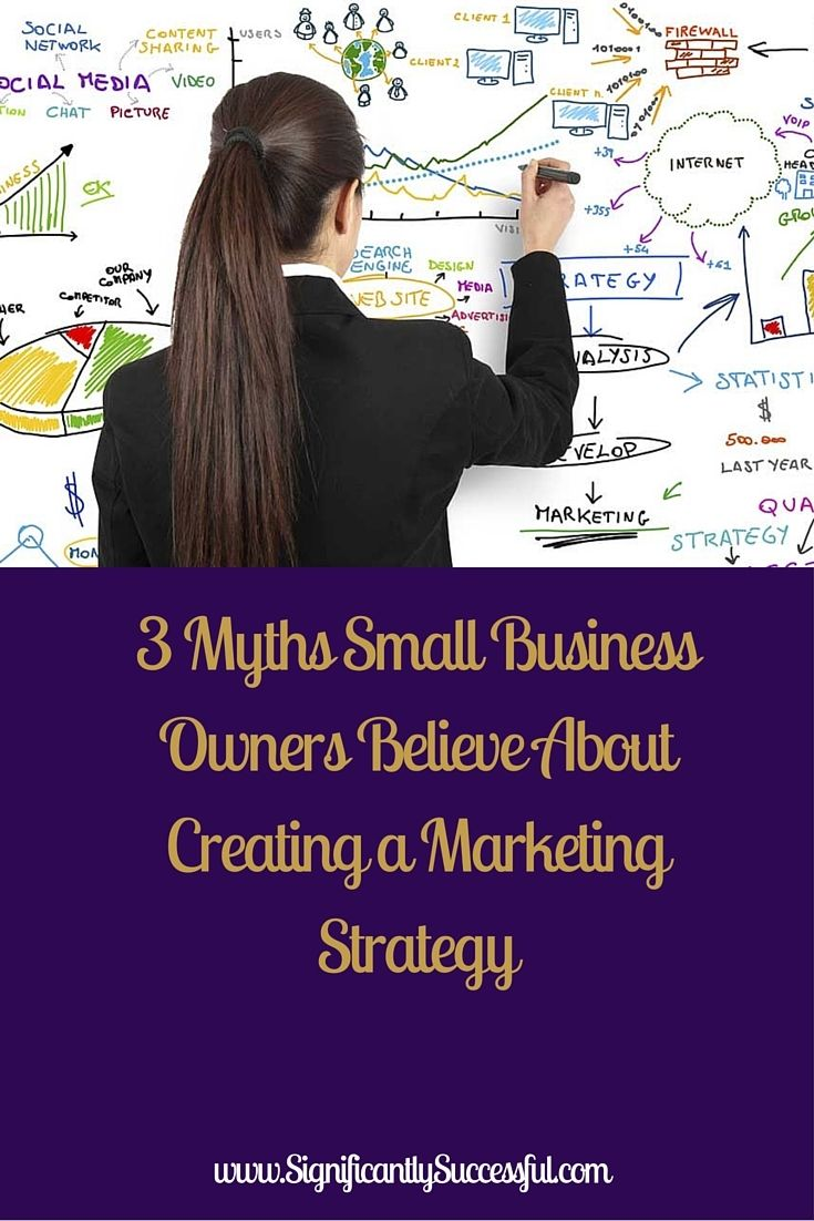 Myths Small Business Owners Believe About Creating A Marketing