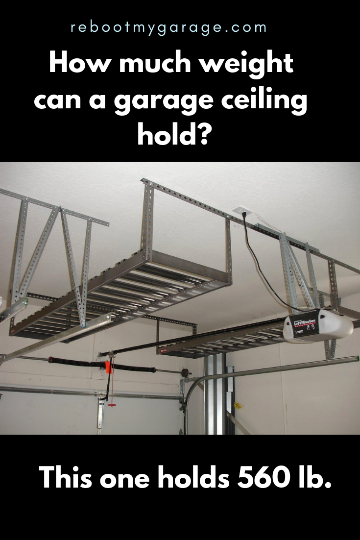 How Much Weight Can I Hang From My Garage Ceiling Garage
