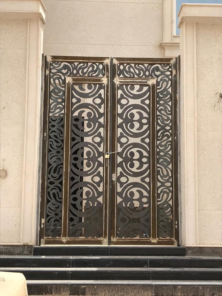 Saudiarabia Riyadh Doors Gates Design Cnc Lifestyle Modern Cadd Beautiful Metaldoo Exterior Doors With Glass Exterior Door Designs Steel Gate Design
