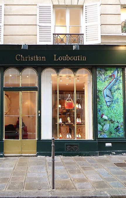 christian louboutin paris shop