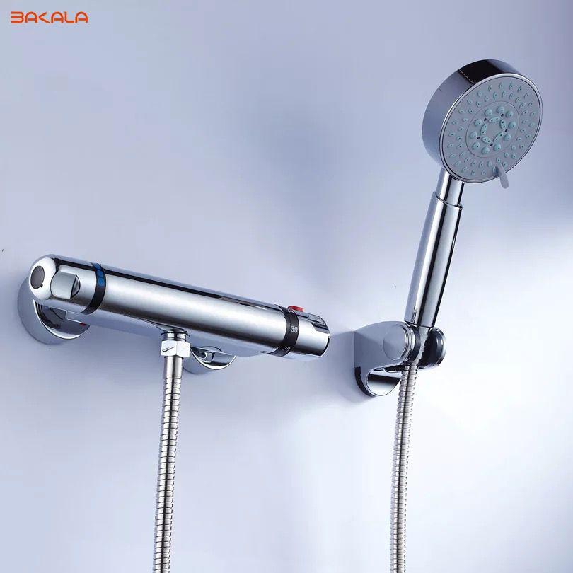 Kupit Tovar Bakala Smesiteli Dlya Dusha Temperatura Kran Smeshivaniya Vody Klapan Polnyj Medi Termostaticheskij Core 38 Po Celsiyu V Kategorii Shower Modern Mixer