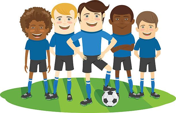 Image Result For Cartoon Soccer Team Pictures Team Pictures Soccer Team Pictures Soccer Team