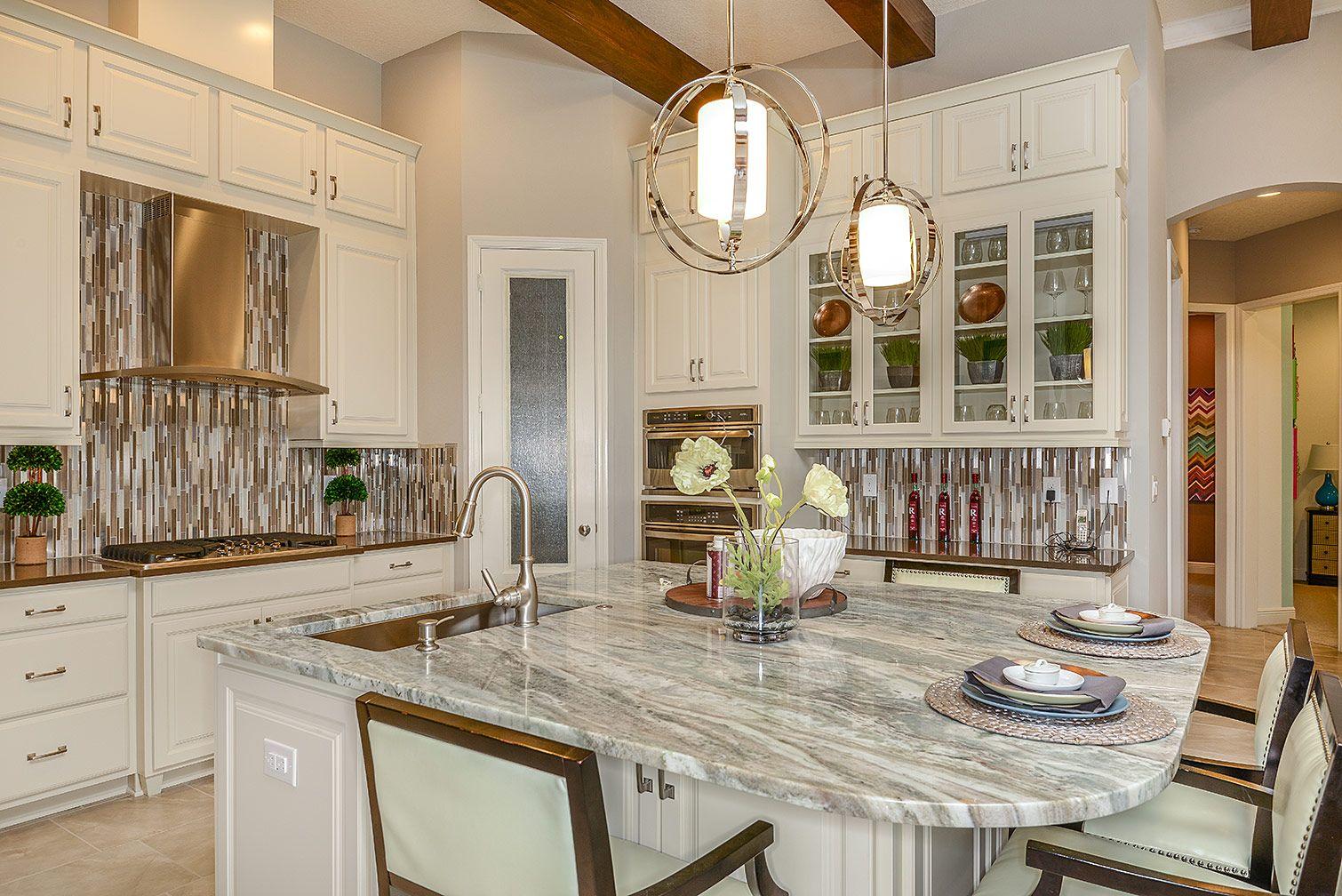 Homes By Westbay Key Largo White Kitchen Cabinets Kitchen Design Home
